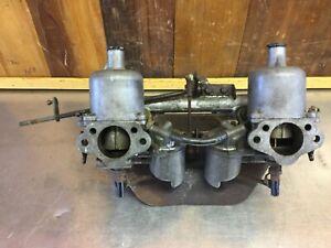 1965 Volvo P122S • Intake & Su Carburetors, England.  94 F/94 R.   V155