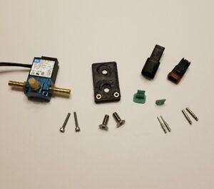 Boost Control Solenoid MAC valve 35A-AAA-DDBA-1BA & bracket turbo PWM EMS ECU