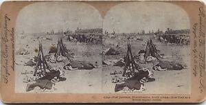 South África Sudáfrica Fuerte Jameson Foto Estéreo Stereoview Vintage