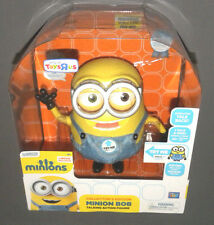 "MINIONS Movie Collector's Edition Minion Bob 10"" Interactive Talking Figure Doll"