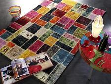 Tapis multicolore design ha037 au hasard patchwork moderne 140x200cm Multicolore