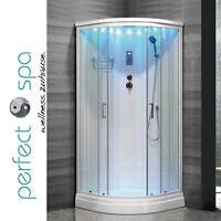 Duschkabine PS-300TY  Dusche Regendusche Duschtempel Fertigdusche Weiß NEU