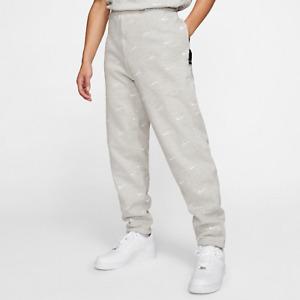 NikeLab Nike NRG Swoosh Logo Men's Pants Grey Heather Size [XL]