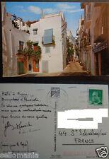 POSTAL DE PEÑISCOLA . CALLE TIPICA . CASTELLON . MIRA MAS EN MI TIENDA CC3191