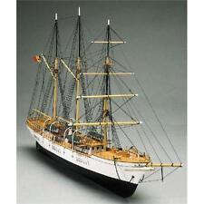 Mantua Models Mercator Tall Wooden Ship Kit Plank on Frame 757