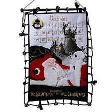 Nightmare Before Christmas Countdown Plush Scroll  ( New Sealed )