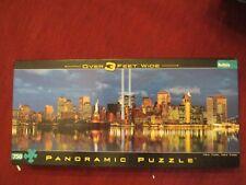 NEW YORK, NEW YORK TRIBUTE IN LIGHT MEMORIAL PANORAMIC PUZZLE 750 PC USED