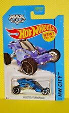 2014 Hot Wheels CITY #86 MAX STEEL TURBO RACER