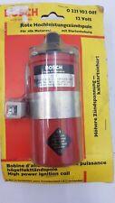 Bosch Universal Rote / Orange Hochleisungs-Zündspule 12V 0221102081 Oldtimer