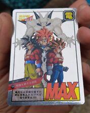 carte dragon ball z original laser spécial Omega Sheron Vs Gogeta 4