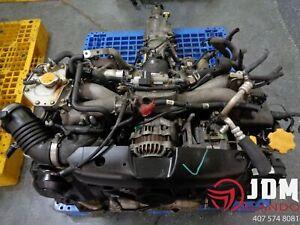 02-05 SUBARU IMPREZA WRX AVCS ENGINE & 5-SPEED TRANSMISSION JDM EJ205