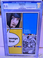 IMAGE FIRST # 1 CGC 9.6 NM 1ST WALKING DEAD REPRINT (IMAGE, 2005)