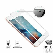 For Apple iPhone 6/6s 3D Full White Curved Screen Protector Tempered Glass(p)