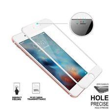 3D Complet Blanc Courbé Protège Écran verre trempé pour Apple iPhone 7