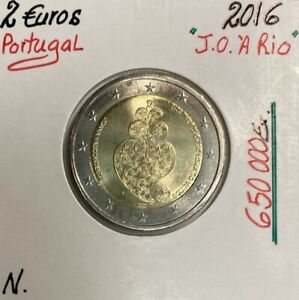 Portugal - 2 Euro 2016 - JEUX OLYMPIQUES A RIO