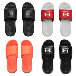 Under Armour Mens Sliders Ansa Slides Shoes Beach Summer Pool Size