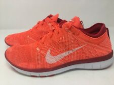 WOMENS NIKE FREE FLYKNIT TR 5.0 RUNNING SHOES SIZE 10 PINK ORANGE PEACH 718785