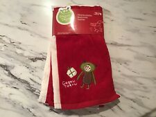 New Washcloths Nwt Christmas Set Of Four Holiday
