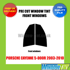 PORSCHE CAYENNE 5-DOOR 2003-2010 FRONT PRE CUT WINDOW TINT