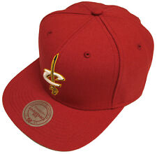 Mitchell & Ness Cleveland Cavaliers SOLID BASIC TEAM snapback cap NBA nl99z