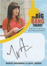 Big Bang Theory Seasons 6 & 7: MH1 Margo Harshman - Alex Jensen Autograph card