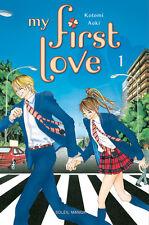 Lot mangas My First Love tome 1 à 4 découverte Kotomi Aoki Shojo Soleil 12 VF