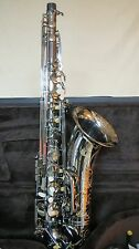 Chateau Professional Handmade Tenor Sax - Black plated body and key CTS-80BB
