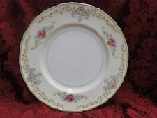 """Royal Doulton The Pembroke, Aqua Trim, Floral: Dinner Plate (s), 10 3/8"""""""