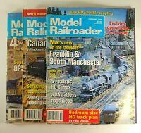 Model Railroader Magazine 1996 Kalmbach Publishing Lot of 3 Model Trains