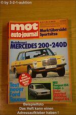 MOT 20/73Ford Taunus DB 200 240 D Porsche Mazda 616