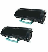 2-Pk/Pack X264H21G X264H11G Toner Cartridge For Lexmark  X264 X264DN X363 X364