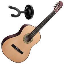 Classic Cantabile AS-851 4/4 Konzert Gitarre Klassik Gitarre Wandhalter Set