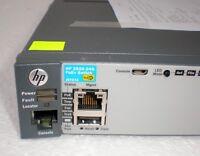 HP  J9727A 2920-24G PoE+ 20-port GbE PoE+ 4x dual ports SFP/RJ45 + PSU J9738A