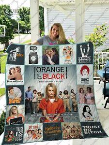 Mofi Orange Is The New Black Quilt Blanket For Fans