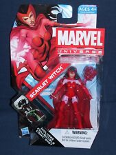 Marvel Universe Scarlet Witch 3 3/4 Action Figure #16 Series 4 NIB Hasbro
