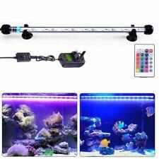 Aquarium Lights Submersible Fish Tank Led Lamps Rgb Blue White Waterproof Us Us