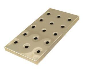 "Bar Drip Tray Brass Gold Effect Long Large Draining Tray 16.5"" Pub Tray"