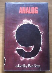 ANALOG 9 edited Ben Bova 1st Ed HBDJ 1977 includes  Frederik Pohl Joe Haldeman