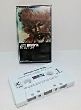 """Jimmi Hendrix """"The Cry of Love"""" Cassette Tape"""
