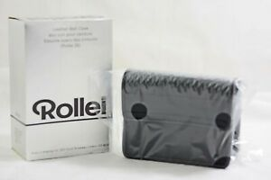 RARE VINTAGE ROLLEI 35 LEATHER BELT CAMERA CASE (NEW)