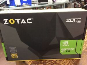 ZOTAC GeForce GT 710 2GB DDR3 PCI-E 2.0 Graphics Card