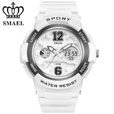 SMAEL Women Sport Watch Digital Dual Electronic Wristwatch Fashion Students Gift