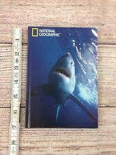 """National Geographic Hc Lined Notebook 60pages 7""""x5"""" Great White Shark"""