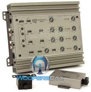 ZAPCO ASP-X4 234WAY PROCESSOR 8-CH ELECTRONIC CROSSOVER 9.5 VOLT RMS LINE DRIVER