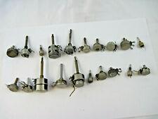 20 Untested Potentiometers Type Gab Singlemulti Turn Ohmite Allen Bradley