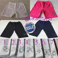 Girls Over-Knee Gym School PE Sport Dance Shorts Hot Pants Decorated age 4M 14Y