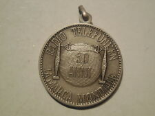 Medaglia 50° radio telefunken 1903 1953 argento