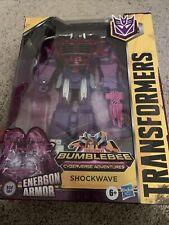 Transformers Bumblebee Cyberverse Adventures Shockwave Action Figure