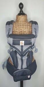 Ergobaby Omni 360 Baby Carrier All-In-One Cool Air Mesh Grey RRP $349