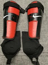 Youth's Nike Charge 2.0 Shin Guards Sz L Black
